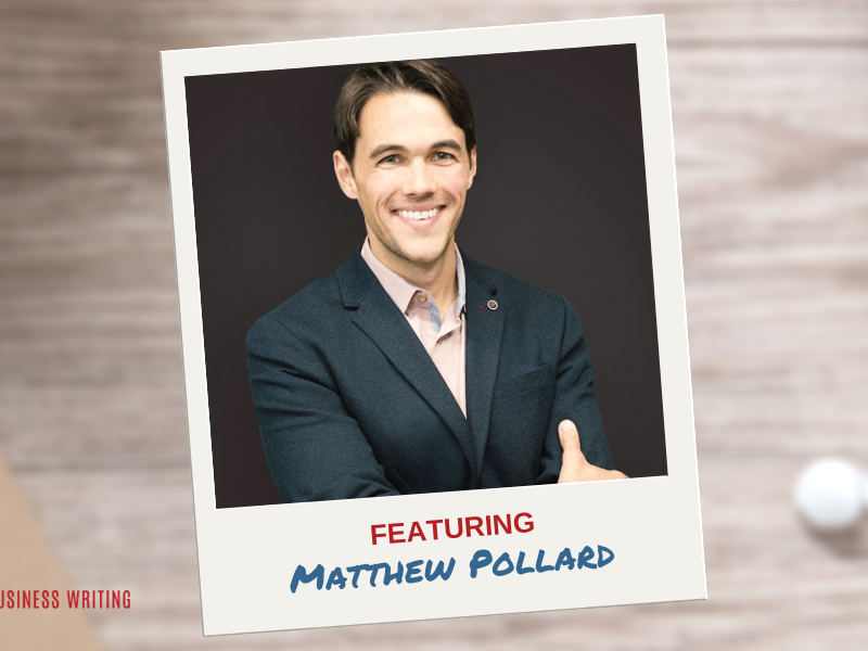 #160: Selling Your Writing Services When You're an Introvert — an Interview with Matthew Pollard